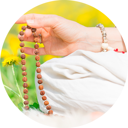 practicing mantra in the park-A mantra is often a set of deeply spiritual words that you repeat or chant over and over again. Usually short, and simple, all religions have a mantra