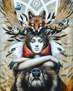 image of illustration of spirit animal