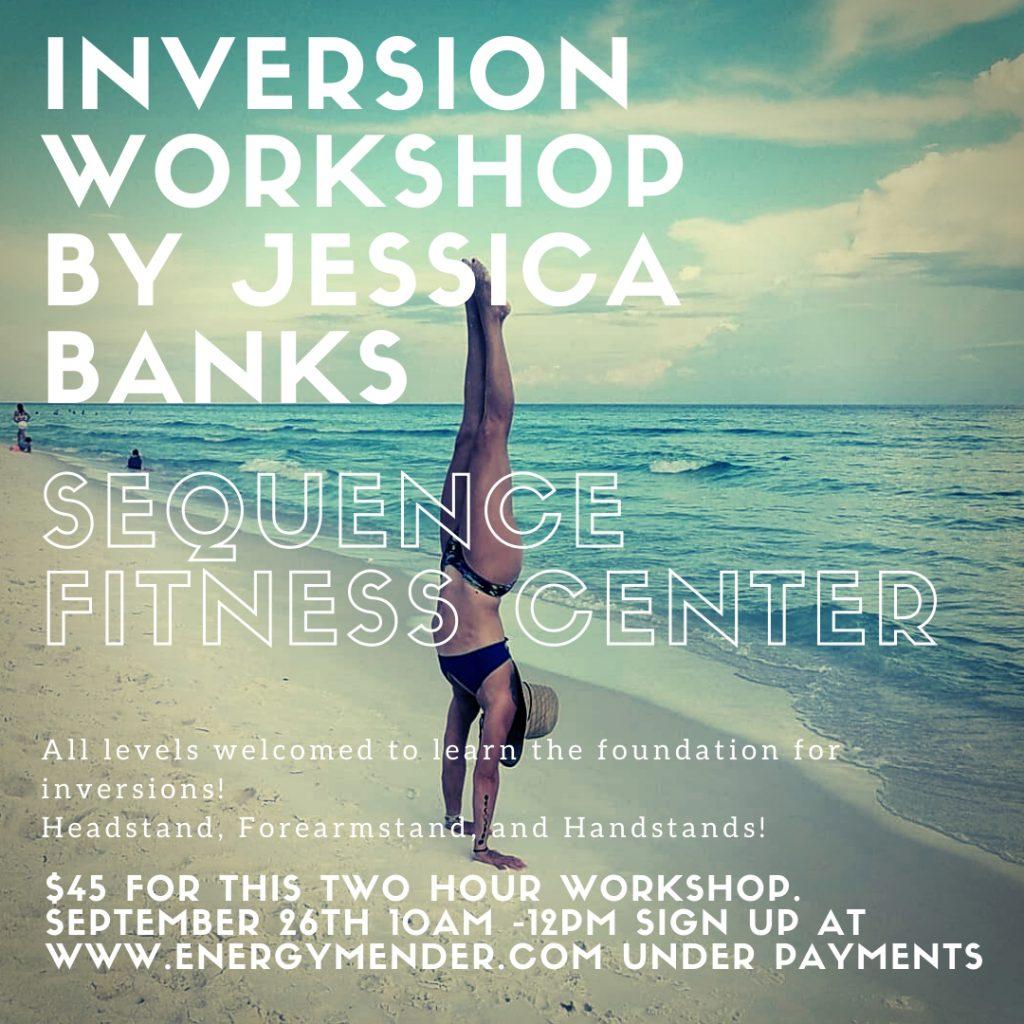 image of Jennifer Banks Inversion Class poster